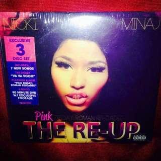 Nicki Minaj-The RE-UP - Pink Friday Roman Reloaded (DVD+2CD)