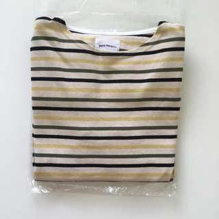 Norse Projects Godtfret Multi Stripe Tee