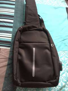 Anti Theft Sling Shoulder Bag