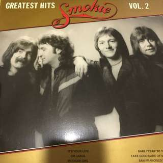 Smokie greatest hits vinyl record