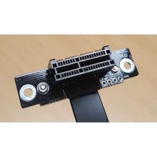 PCIe 3.0 x1 Riser Card