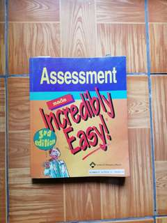 Lippincott- Assessment made Incredibly Easy (3rd edition)