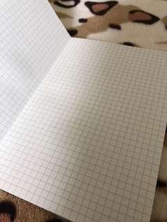 Black grid booklet