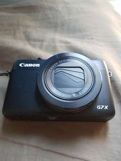 Canon G7X for SALES! Letting go cheap