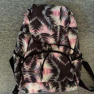 tropical pastel backpack
