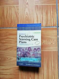 Saunders Manual of Psychiatric Nursing Care Plans (3rd Edition)