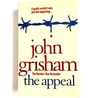 The Appeal by John Grisham (political legal thriller book)