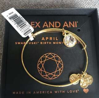 Alex and Ani April Birthstone