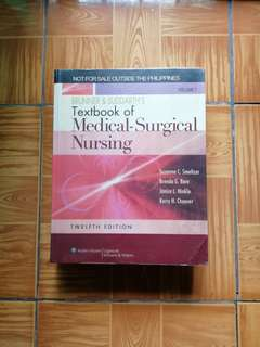 Brunner & Suddarth's Textbook of Medical - Surgical Nursing (12th Edition)
