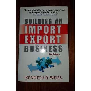 Building an import export biz