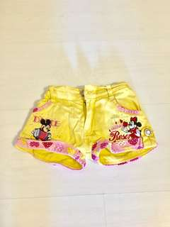 Mickey & Minnie Mouse shorts