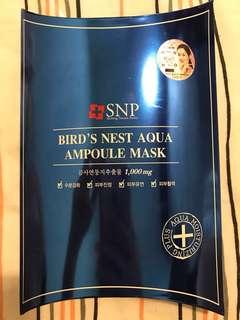 SNP Bird Nest Aqua Ampoulse Mask