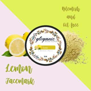 Gloganic Blemish and Oil-free Lemon Mask