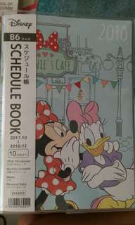 Disney Mickey Mouse Schedule Book 2018