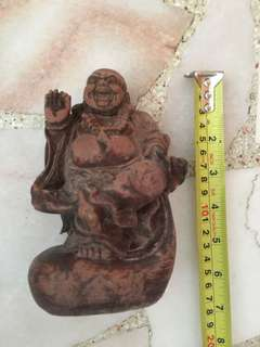 Laughing Buddha Resin 7 inch