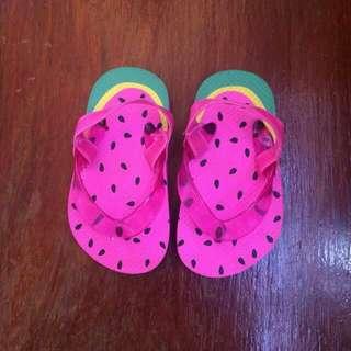 Water Melon Style Slippers