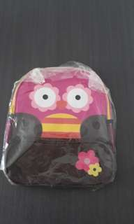 Girl's owl backpack
