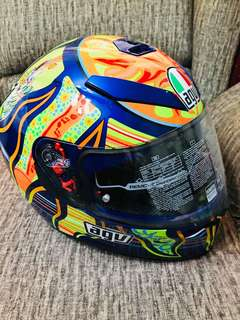 AGV K3-SV Helmet Wake up & 5 continents