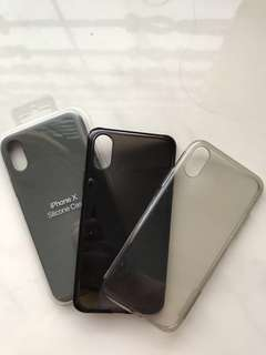 Iphone X - Silicon Gel