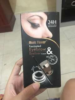 eyebrow dan eyeliner music flowetr
