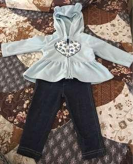 Carter's hoodie set