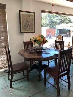 Four sitter antique table