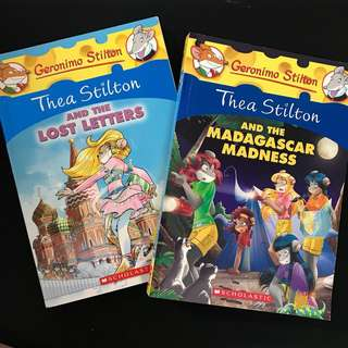 Thea Stilton Books 8-in-1