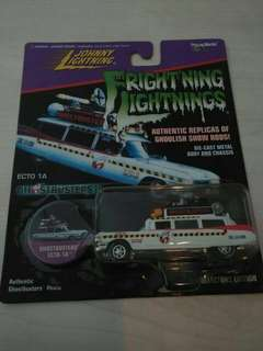 Johnny lightning ghostbusters exto A1 Frightning Lightning 1997 langka
