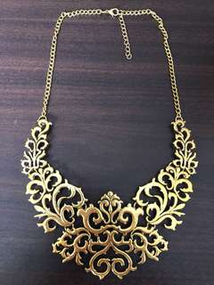 Victorian Vintage Gothic Filigree Statement Necklaces