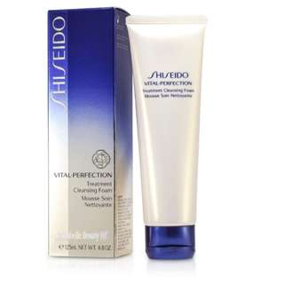 SHISEIDO VITAL-PERFECTION Treatment Cleansing Foam 125ml $245 (市場價$320)  100% new & real