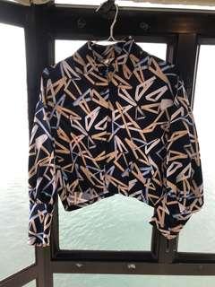 Print dress top