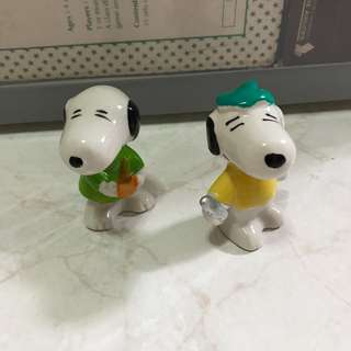 Snoopy collectables porcelain figurine