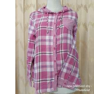 Pink shirt Hoodie