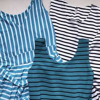 Striped Dresses Bundle