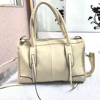 Cream Casual Handbag