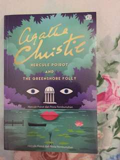 Novel Agatha Christie - Hercule Poirot and The Greenshore Folly terjemahan