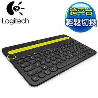 Logitech羅技- K480多功能藍牙鍵盤 (黑色)