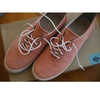 🚚 粉色休閒平底鞋
