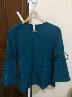 Blouse Turquoise