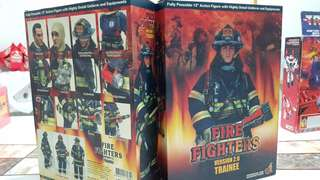 hot toys toy rare fireman fire fighter firefighter version 2.0 trainee