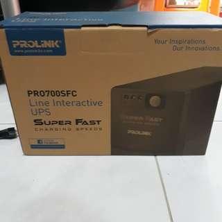 Prolink UPS PR0700SFC, 650 VA, 230 VAC