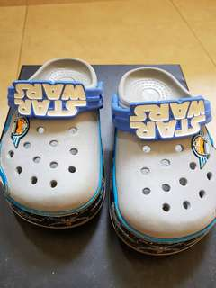 Crocs baby shoe