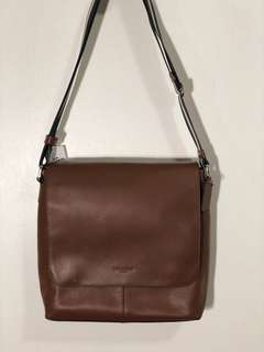 Coach messenger bag brown