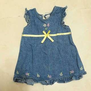 Jeans Flower Dress