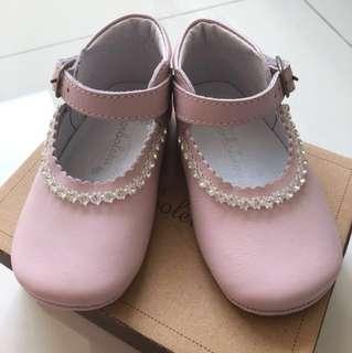 BNIB Baby shoes Pink Lea