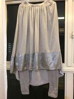 Skirt with legging