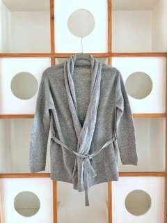 Muji Knitted Sweater (robe-type)