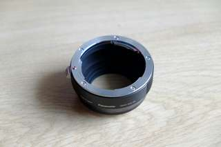 Panasonic DMW-MA3R Leica R lens to M43 mount adapter.
