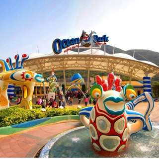 Ocean Park Hong Kong Admission Ticket