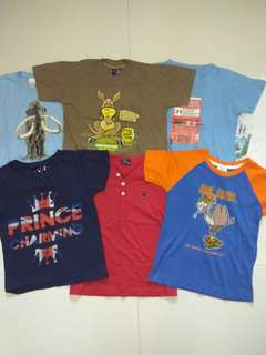 7 For $14! 4 To 6Yrs Old Boys Shirts / Tops / Clothes